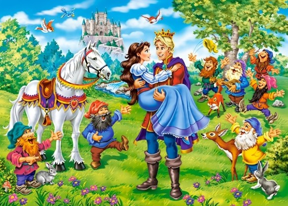 Castorland Puzzle 120 Snow White - Happy Ending 13463
