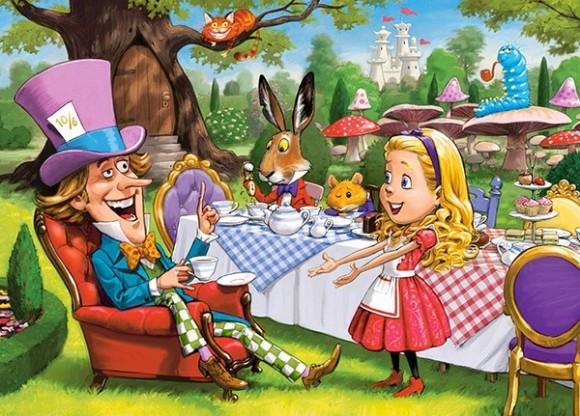 Castorland Puzzle 120 Alice in Wonderland 13456