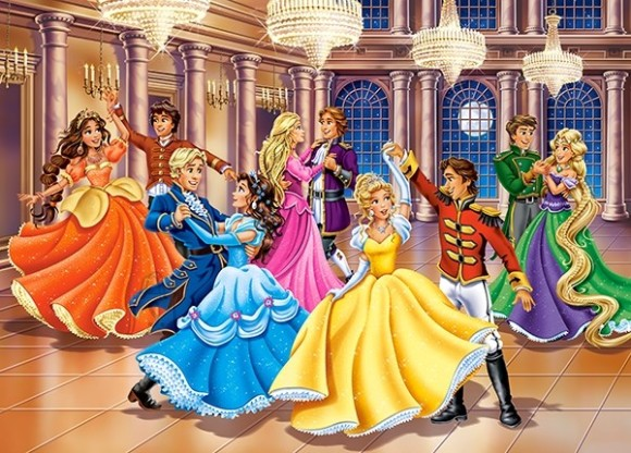 Castorland Puzzle 120 Princess Ball 13449