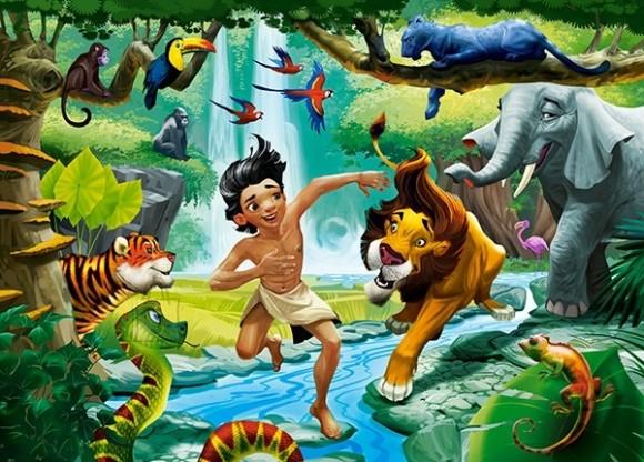 Castorland Puzzle 120 Jungle Book 13487