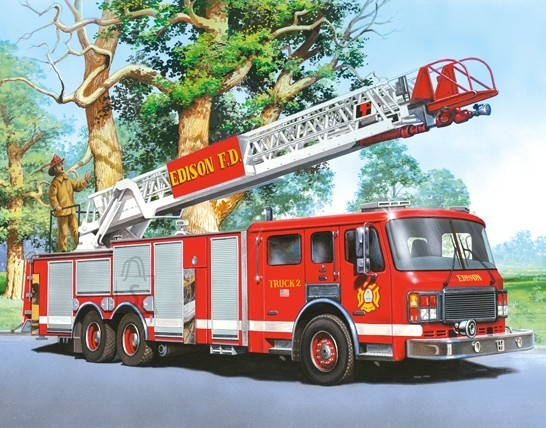 Castorland Puzzle 60 Fire Engine 06595