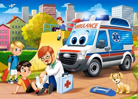 Castorland Puzzle 60 First Aid 066193