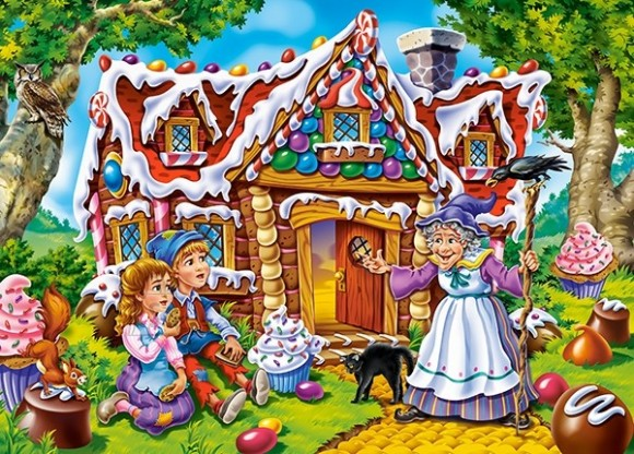 Castorland Puzzle 60 Hansel and Gretel 066094