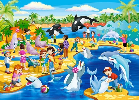 Castorland Puzzle 60 Dolphinarium 066148