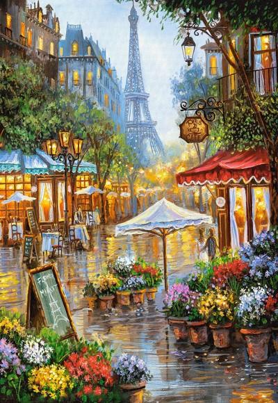 Castorland Puzzle 1000 SPRING FLOWERS, PARIS 103669