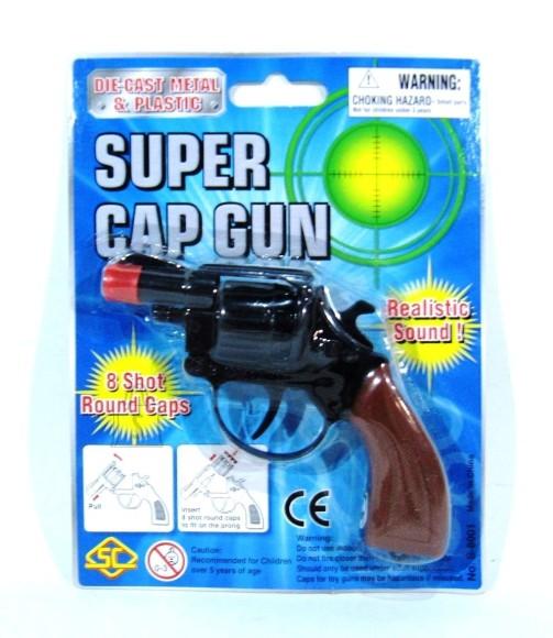 TONGIPÜSTOL METALLIST SUPER CAP GUN 10489