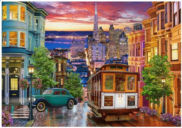 Castorland Puzzle 500 San Francisco Trolley 53391