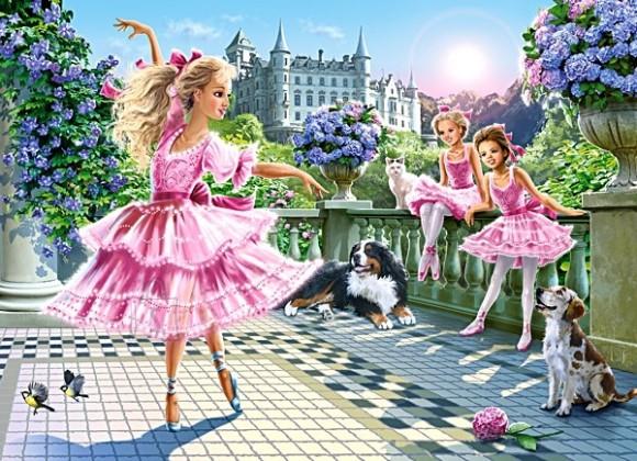 Castorland Puzzle 180 BALLET DANCERS 18222