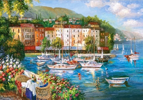 Castorland Puzzle 500 Harbour Of Love 53414