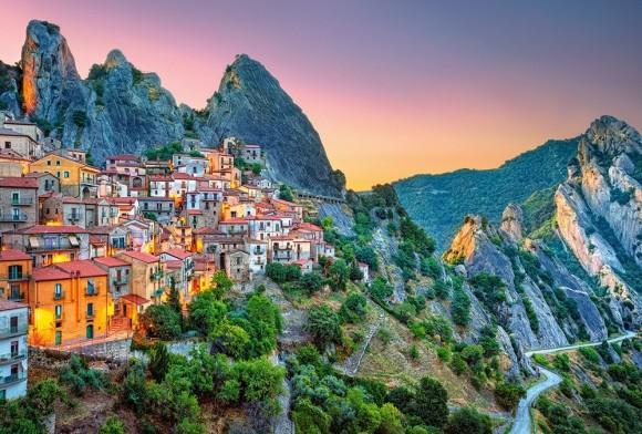 Castorland Puzzle 1500 Sunrise over Castelmezzano 151912