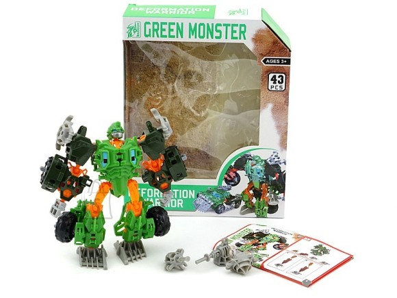 TRANSFORMER GREEN MONSTER 11769