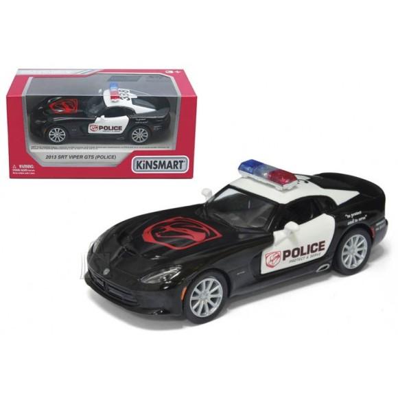 KINSMART AUTOMUDEL 2013 SRT VIPER GTS POLICE