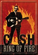 NostalgicArt metallist postkaart Cash Ring of The Fire