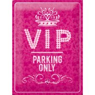 NostalgicArt metallplaat VIP Parking Only