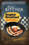 NostalgicArt metallplaat English Breakfast