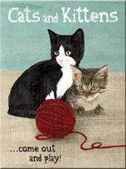 NostalgicArt külmkapimagnet Cats and Kittens