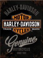 NostalgicArt külmkapimagnet Harley-Davidson Genuine
