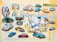 NostalgicArt metallplaat VW die Fünfziger Jahre
