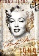 NostalgicArt metallist postkaart Marilyn Monroe