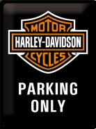 NostalgicArt metallplaat Harley-Davidson Parking Only