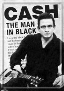 NostalgicArt metallist postkaart Cash The Man in Black