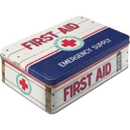 NostalgicArt Metallist säilituskarp First Aid Emergency supply