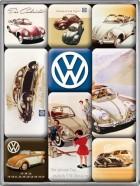 NostalgicArt külmkapimagnetite sari VW põrnikad 9tk