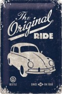 NostalgicArt metallplaat VW Beetle The Original Ride