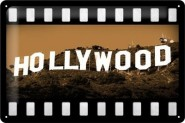 NostalgicArt metallplaat Hollywood