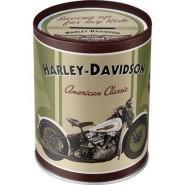 NostalgicArt Rahakassa Harley-Davidson Knucklehead
