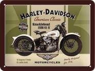 NostalgicArt metallplaat Harley-Davidson Knucklehead