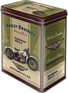 NostalgicArt Metallist säilituskarp Harley-Davidson Knucklehead 3L