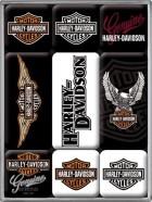 NostalgicArt magnetite sari Harley-Davidson logo 9tk