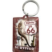 NostalgicArt Võtmehoidja Route 66 Survivor