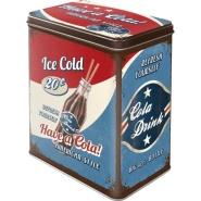 NostalgicArt Metallist säilituskarp Ice Cold 3L
