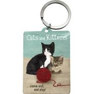 NostalgicArt Võtmehoidja Cats and Kittens
