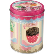 NostalgicArt Metallist säilituspurk Fairy Cakes 1L