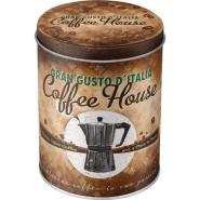 NostalgicArt Metallist säilituspurk Coffee House 1L