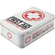 NostalgicArt Metallist säilituskarp First Aid 2.5L