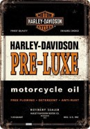 NostalgicArt metallist postkaart Harley-Davidson Pre-Luxe