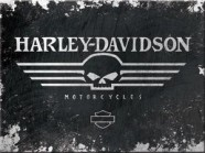 NostalgicArt magnet Harley-Davidson Pealuu