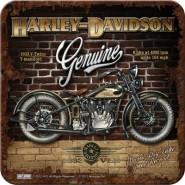 NostalgicArt retro klaasialus Harley-Davidson Genuine