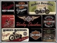 NostalgicArt magnetite sari Harley-Davidson 9tk