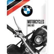 NostalgicArt metallplaat BMW Motorcycles since 1923