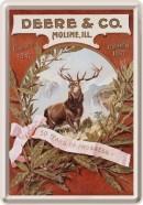 NostalgicArt metallist postkaart John Deere & Co