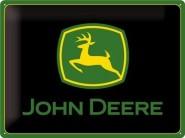 NostalgicArt metallplaat John Deere logo