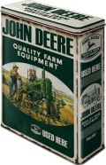NostalgicArt Metallist säilituskarp John Deere Quality Farm Equipment 4L