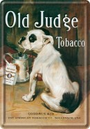 NostalgicArt metallist postkaart Old Judge Tobacco