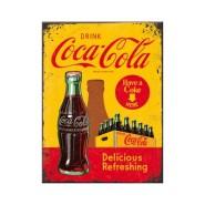 NostalgicArt magnet Coca-Cola in bottles