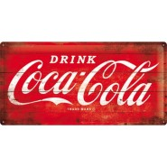 NostalgicArt metallplaat Coca-Cola Logo